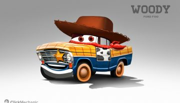 Pixar Fans! Check Out These Alternative Cars Characters