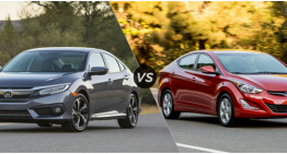 New Honda Civic vs Hyundai Elantra: Spec Comparison